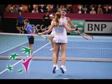 Highlights - Cornet/Mladenovic (FRA) v Bacsinszky/Bencic (SUI)