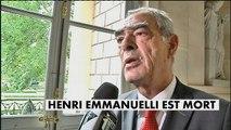 Henri Emmanuelli, ex-ministre et président PS de l'Assemblée nationale est mort - Politique