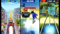 Talking Tom Gold Run vs Sonic Dash 2 Sonic Boom vs Looney Tunes Dash game for kids