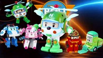 DADDY FINGER FAMILY SONG Robocar Poli Nursery Rhymes for Children Babies and Toddlers