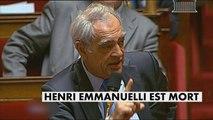 Henri Emmanuelli, figure emblématique du PS - Politique