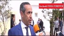 تصريح ربوح حداد نائب رئيس اتحاد الجزائر حول استقالته من اتحاد الجزائر