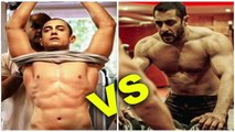 Aamir Khan Body Building For Dangal and Salman Khan Body Building For Tubelight movie