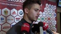 """Leander Dendoncker: """"Ca va plus vite qu'à Anderlecht"""""""