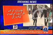 Fight between two student groups at Punjab University in Lahore