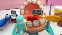 DR WACKELZAHN Play Doh Deutsch - Zahnarzt Spiel mit Knete - Dr. Kaan macht Zähne mit Knete