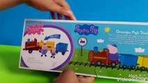 Peppa Pig Grandpas Little Train. Peppa pig Grandpa pigs Gertrude Train