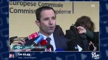 """""""Un frère en politique"""" : Benoît Hamon très ému en évoquant le décès d'Henri Emmanuelli"""