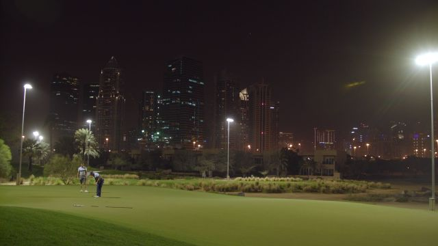 Golf All Night in the Heart of Dubai at Emirates Golf Club