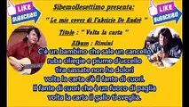 Volta la carta ( Fabrizio De Andrè cover )