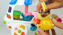 Пеппа свинья играть доч мутный лужи английский эпизоды Новые функции Пеппа свинья Игрушки пластилин видео