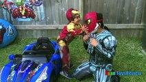 Easter Eggs Surprise Opening 2016 Marvel SuperHeroes Toys Batman vs Superman Hulk Iron Man
