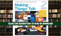 PDF Book Making Things Talk: Using Sensors, Networks, and Arduino to See, Hear, and Feel Your