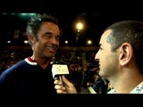 French Tennis Star Yannick Noah interview