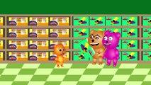 Mega Gummy bear farting eating junk food visits doctor finger family Rhyme for Kids | Gumm