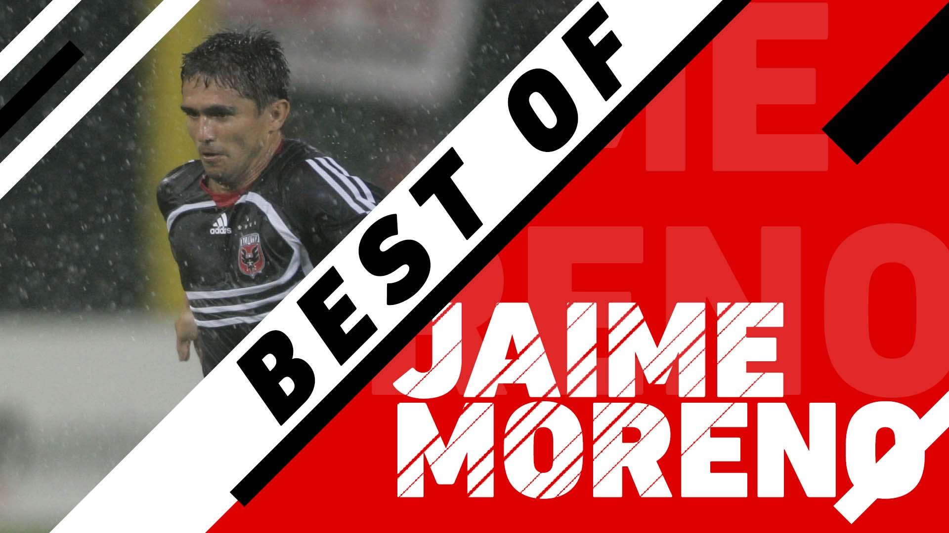 DC United legend Jaime Moreno's best goals and highlights in MLS