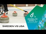 Sweden v USA | Round robin | Wheelchair curling | Sochi 2014 Paralympic Winter Games