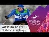 Men's and women's short distance biathlon sitting  | Sochi 2014 Paralympic Winter Games