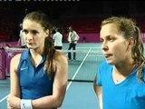 Fed Cup Interview: Iveta Benesova and Barbora Zahlavova Strycova
