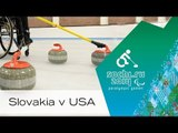 Slovakia v USA | Round robin | Wheelchair curling | Sochi 2014 Paralympic Winter Games