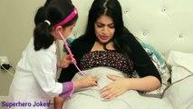 Double Doc McStuffins Farting Mommy Tummy Ache Checkup, Doc McStuffins Gives Farting Mommy