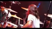 Dave Grohl best live DRUMS SOLOS _ Nirvana - Foo Fighters