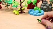 TYRANNOSAURUS REX from Small to Big - Dinosaurs Toys Collection for Kids-yet8