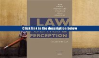 PDF [Download]  Law, Politics, and Perception: How Policy Preferences Influence Legal Reasoning