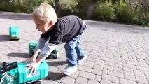 Bruder Toy Trucks for Children - Backhoe Excavators, Dump Trucks, Garbage Trucks & Fire Engine-CNbzY
