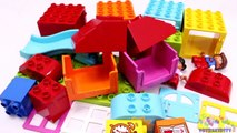 Building Blocks Toys for Children Lego Playhouse Kids Day Creative Fun-sjj24h
