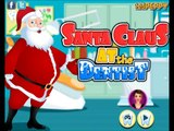 Santa Clause at the Dentist-video for fun holidays time-Christmas Games
