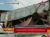 BT: Ilang bahay sa Cagayan de Oro City, nasira ng pagbaha