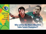 Who will be Men's Olympic Table Tennis Champion