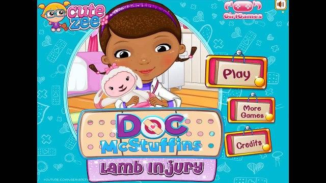 Doc McStuffins Lamb Injury - Doc Mcstuffins Games