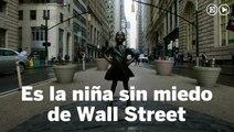 La 'niña sin miedo' se enfrenta al Toro de Wall Street