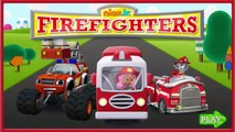 Nick Jr. Firefighters - Nick Jr. Firefighters Paw Patrol Blaze Bubble Guppies Game For Kid