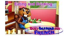 Eating & Drinking (French Lesson 19) CLIP - Enfants Français, Bébé French, Easy French Cou
