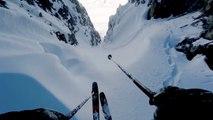 Ski, voici l'étroit couloir engagé pour Julien Lange à Tignes
