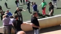 Une bagarre générale entre parents lors d'un match de jeunes