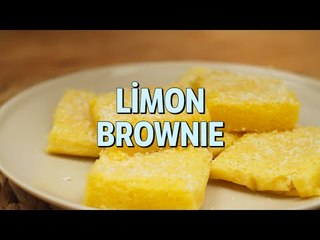 Limon Brownie Tarifi