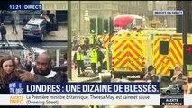 Attaque à Londres: un témoin raconte avoir vu une voiture accélérer sur les passants