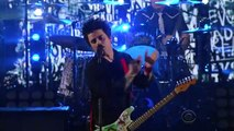 Green day - Still breathing - live @ The Late show with Stephen Colbert - Mars 2017