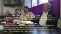 Aix les Bains : Conférence de presse de mi-mandat d'A.Gimenez et F. Brunetti