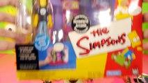 Play Doh Simpsons Bart + Homer Donut Surprise Eggs Noiseland Arcade Playset Lego Toys Play