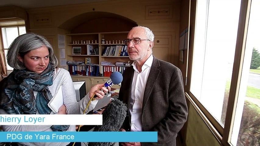 Yara : les explications de Thierry Loyer, PDG de Yara France