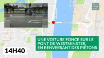 Le déroulé en images de l'attentat à Londres
