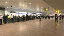 Molenbeek : un an après les attentats de  Bruxelles - Belgique