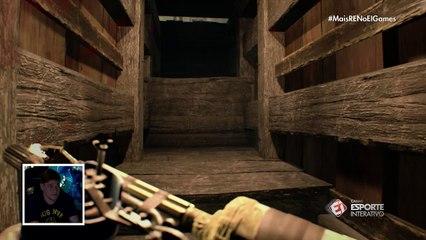 EI Games: Octávio entra em lugar cheio de zumbis em Resident Evil