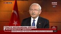 """CHP Lideri Kılıçdaroğlu: """"Herkes Tek Adam Rejimi Yıkımdır ve Türkiye'yi Felakete Götürür Diyor."""