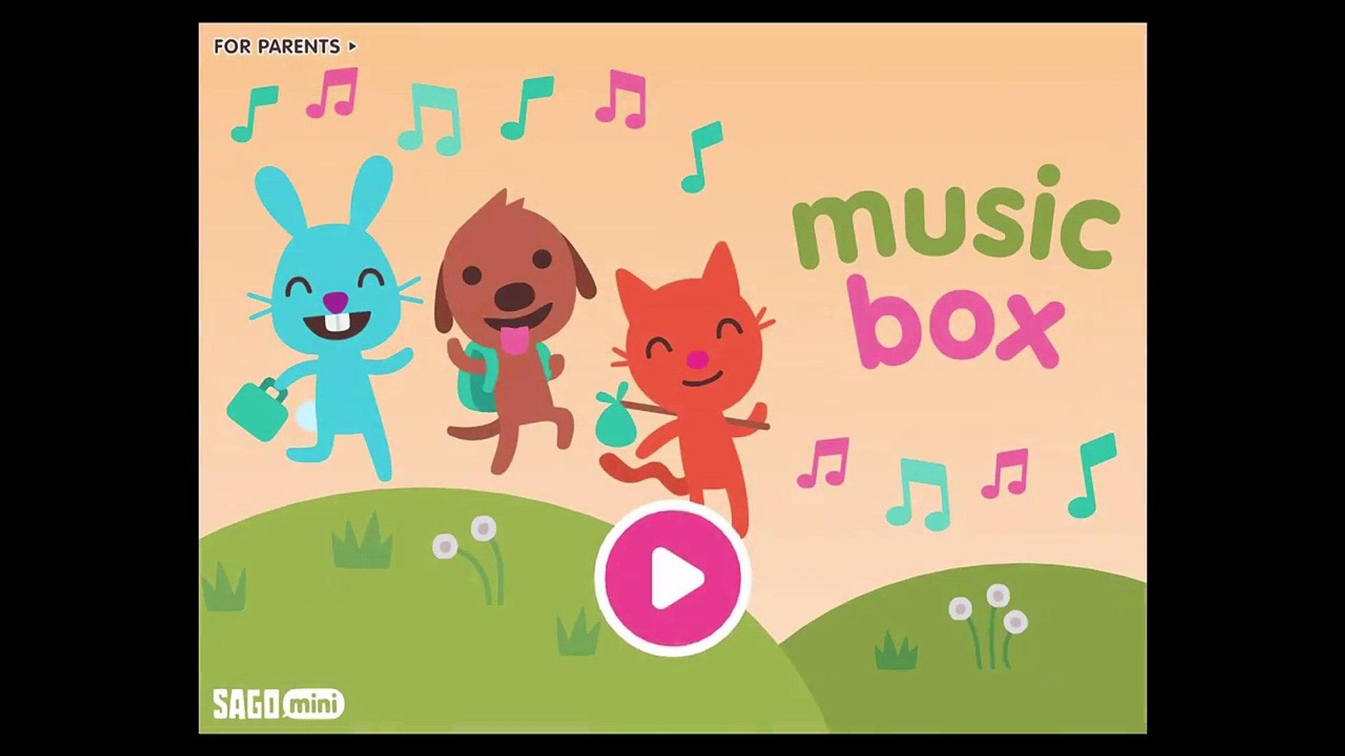Саго Мини музыка Коробка саго саго Дети играть музыка программы